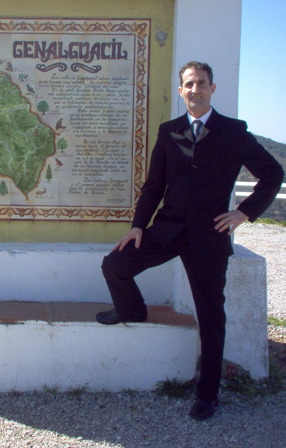 Osy entrando en Genalguacil, Málaga para brindar un nuevo Curso Certificado de Tantra