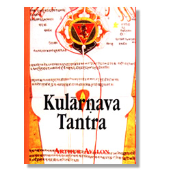 Primera edición del Kularnava Tantra en inglés con introducción de Arthur Avalon